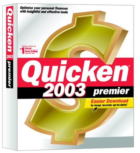 Intuit Quicken 2003 Premier