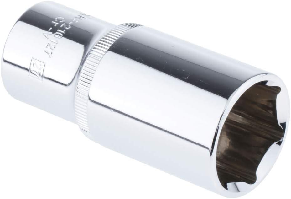 Douille /à Bougie /à Paroi Mince Outil dExtraction 16mm Almencla 1//2 Cl/é /à Douille Hexagonale