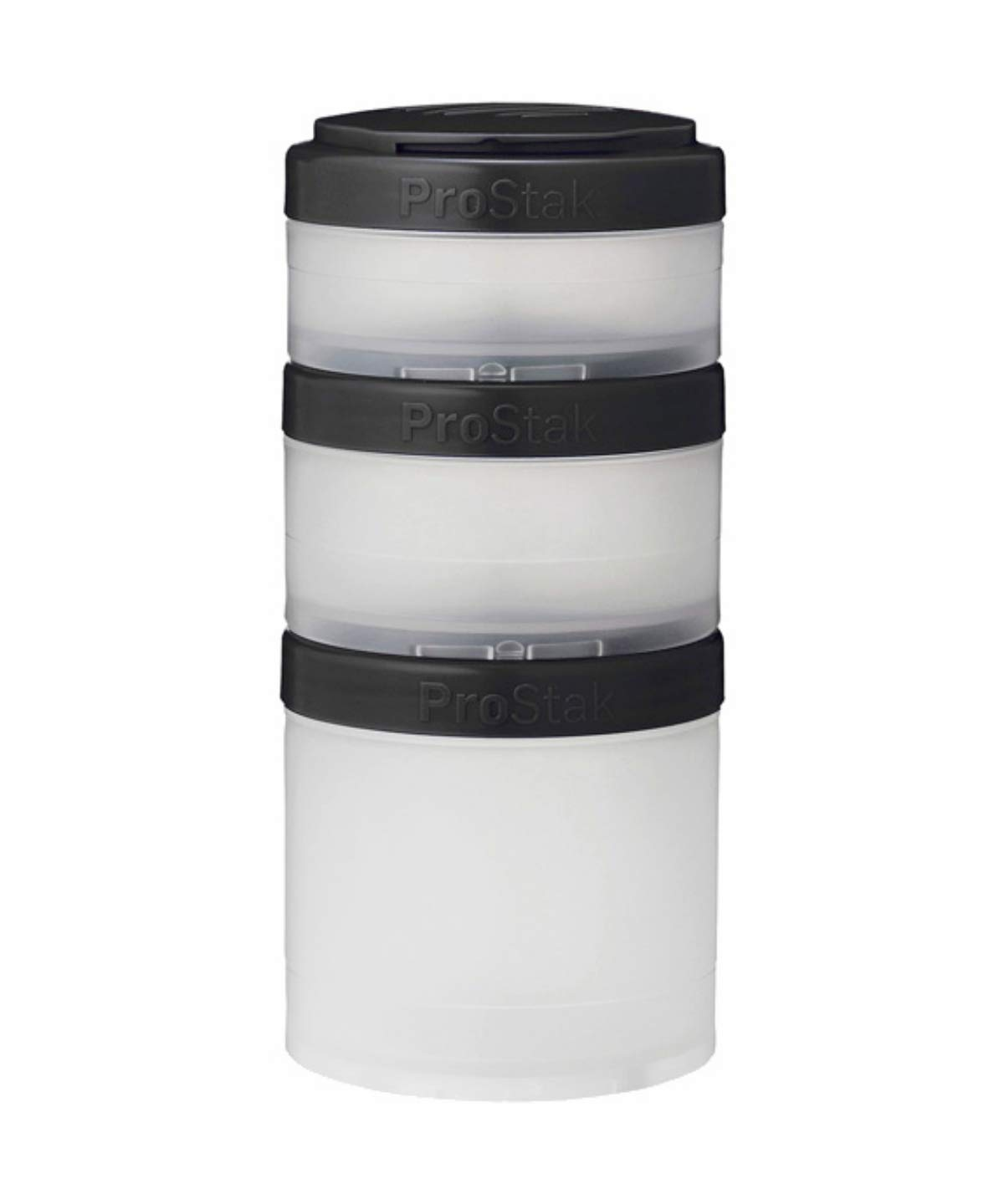 Pill Tray M Clear//Black BlenderBottle PRO Stak Expansion incl Workout Accessories Unisex