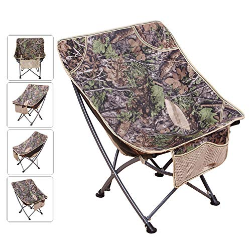 (Portable Folding Chair Outdoor Butterfly Chair Ultralight Lunch Break Chair Backrest Fishing Chair BBQ Beach Stool Sketch Chair Moon Chair Leisure Lounger Chair Recliner)