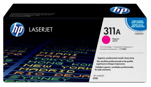 HP Color LaserJet Q2683A Magenta Print Cartridge in Retail Packaging, Office Central