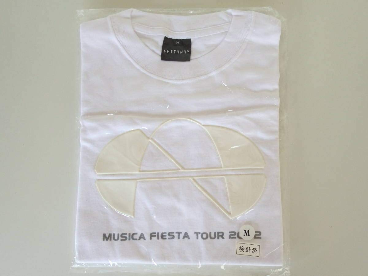 中森明菜 MUSICA FIESTA TOUR 2002 記念Tシャツ   B07PYNS8P8