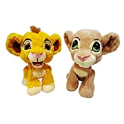 Disney Parks The Lion King Baby Simba and Nala Plush Set