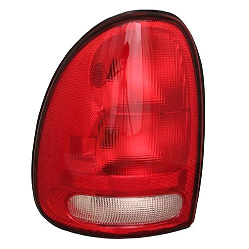 1996-00 Chrysler Town & Country, Dodge Caravan, Plymouth Grand Voyager AND 1998-2003 Durango Taillight Taillamp Rear Brake Tail Light Lamp Left Driver Side (1996 96 1997 97 1998 98 1999 - 2000 Voyager Chrysler Grand