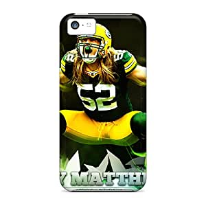 Iphone 5c Xpg8598hDoL Support Personal Customs Colorful Green Bay Packers Skin Shockproof Hard Phone Cases -TimeaJoyce