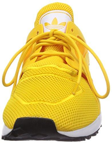 Adidas Racer Lite - Zapatillas de deporte para hombre Bold Gold/Ftwr White/Core Black