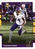 #4: 2017 Donruss #285 Stefon Diggs Minnesota Vikings Football Card
