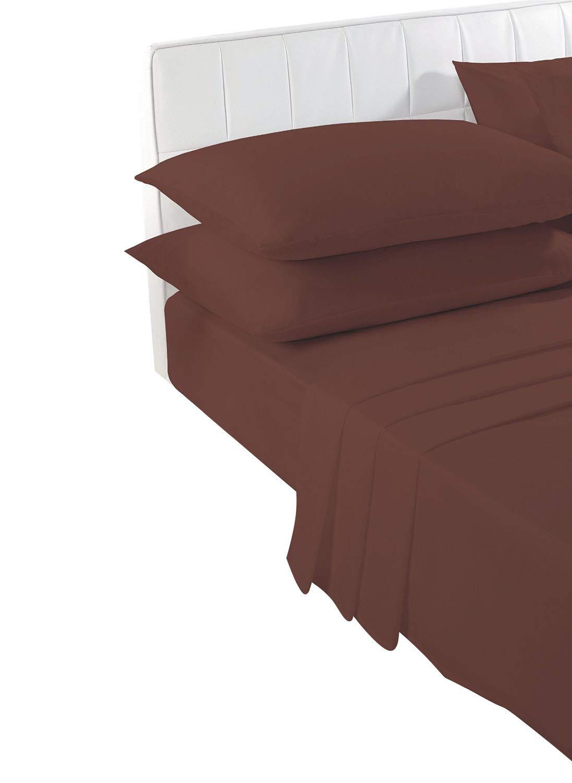 No Planchar Fácil Cuidado 40.6cm (40cm) muy profundo Cama Equipada Hojas - Percal CALIDAD PARA Grueso Colchón - Simple, doble, KING & Súper king- todo el ...