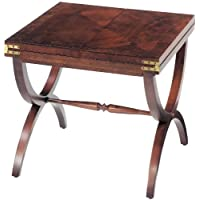 Sterling 6001566 Adderley Traditional Asian Hardwood Cocktail Table, 20-1/2-Inch, Vintage Mahogany