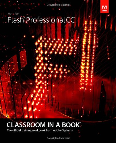 Adobe Flash Professional CC Classroom in a Book (Paperback)-cover