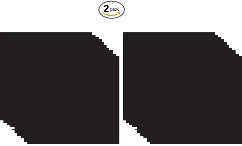 Foam Sheet 9''X12'' 2mm-Black 10 per pack (2 pack)