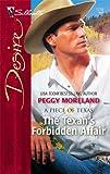 img - for The Texan's Forbidden Affair (Harlequin Desire) book / textbook / text book