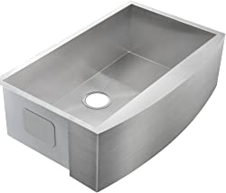 Comllen 30 Inch Handmade Apron Kitchen Farm Sink