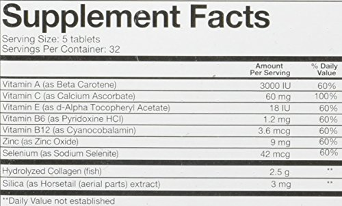 Youtheory Marine Collagen with 18 Amino Acids, 160Count (1 Bottle)