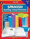 Spanish Reading Comprehension, Level 1, Carson-Dellosa Publishing Staff, 0742402320