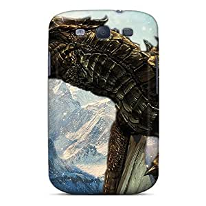 For Galaxy Case, High Quality Skyrim Greybeard For Galaxy S3 Cover Cases