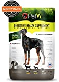 Petvi all natural supplement, helps give your dog a shinier coat, healthier skin, a strong immune system and helps with digestion related problems.
