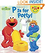 #6: P is for Potty! (Sesame Street) (Lift-the-Flap)