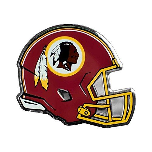 NFL Washington Redskins Helmet Emblem, Maroon, (Nfl Helmet Decals)