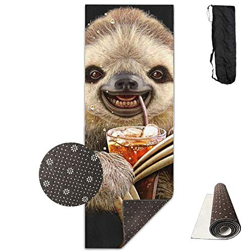 Sloth Juice,Eco-Friendly Non-Slip Yoga Mat Thick Pro Exercise and Pilates Mat with A Yoga Bag Waterproof Yoga Mats Fitness