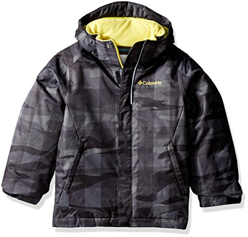 Blue bright Columbia 'twist Boy Black Buffalo Hyper Pizzo Plaid Waterproof Jacket FFXxZw