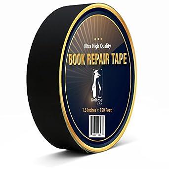 Amazon.com: Cinta negra para encuadernación de libros, cinta ...