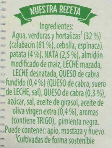 Knorr Las Clásicas Crema de Calabacín con Queso de Cabra - Paquete de 12 x 500 ml - Total: 6000 ml: Amazon.es: Amazon Pantry