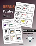 Brain Teasers Rebus Puzzles Games: Rebus Puzzle Books Brain Teasers,Word Plexer Puzzle and Games for Adults (Volume 3)