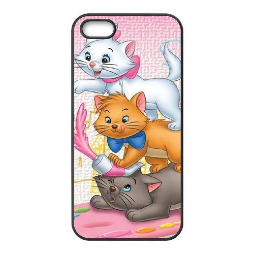 Disney Aristocats Zeichen Toulouse 002 iPhone 5 5s Handy-Fall Hülle schwarz E6D3BJMHRW