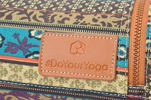 En Muster nbsp;cm Sac 186 0 nbsp;x Tapis Qualité Taille Yoga Sunita doyouryoga 6 Et Gymnastique Large De Pour 63 Toile Une nbsp;x 2 Jusqu'à Extra wxICqB5