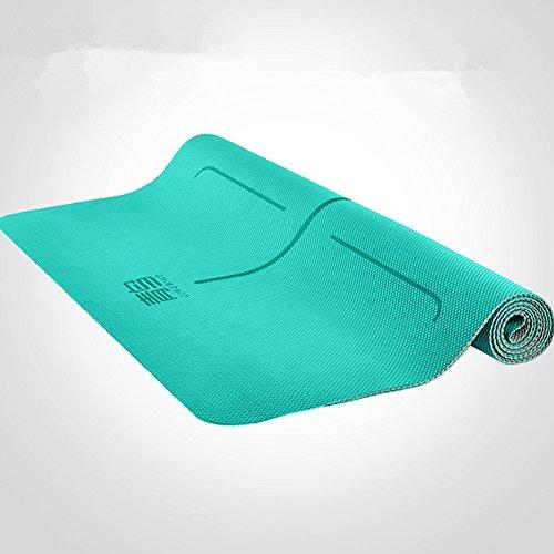Qingniao double face Surface antidérapante anti-déchirure écologique TPE Tapis de yoga séance d'entraînement d'exercice