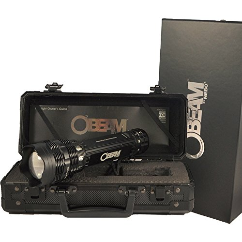 Nebo O2 Beam 420 lm LED Flashlight, Black