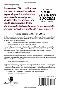 Six Steps to Small Business Success: How to Start, Manage, and Sell Your Business by Maven House