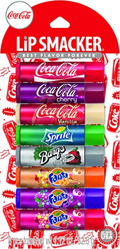 Lip Smacker Coca-Cola Lip Gloss Party Pack, 8 Count