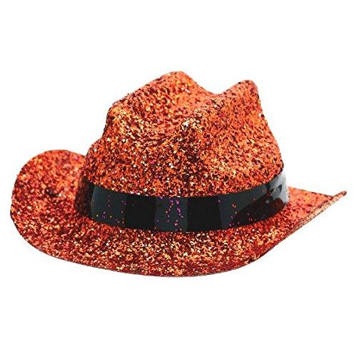 (Amscan Glitter Mini Cowboy Hat, Party Accessory,)