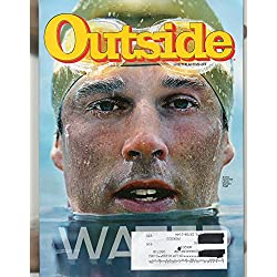 Outside July 2010 the Water Issue / Featuring Arctic Swimmer Lewis Gordon Pugh the Water Issue / the Marianas Trench / Guide to 75 Watering Holes / Hochst-geschwindigkeit!