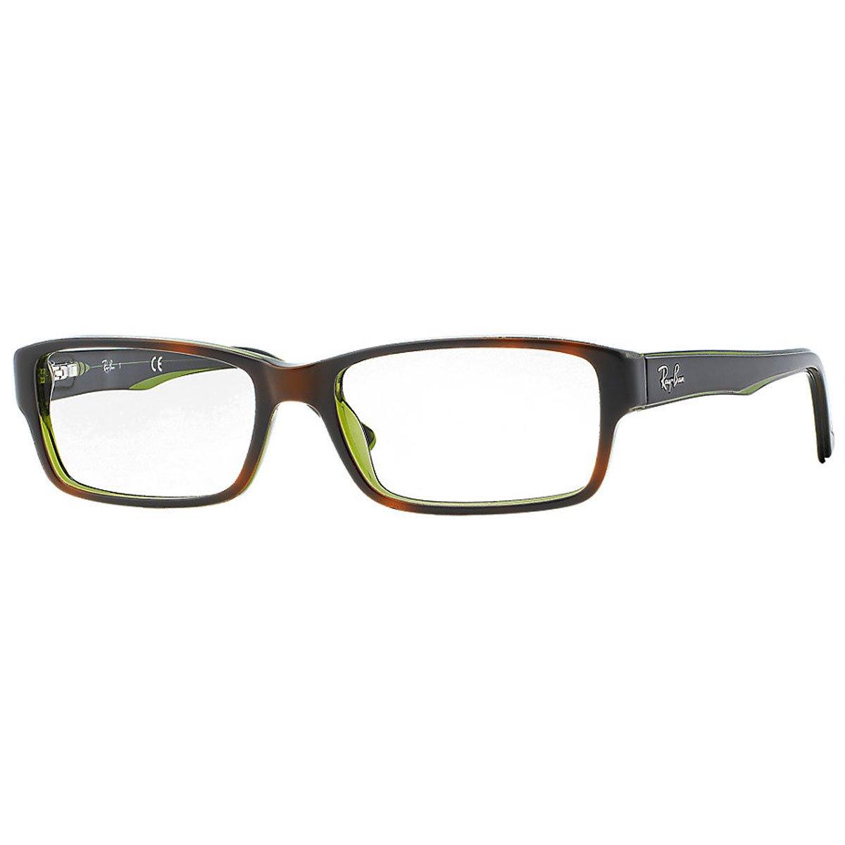 New Ray Ban RB RX 5169 2034 Black Crystal Frame Plastic Eyeglasses Ray-Ban