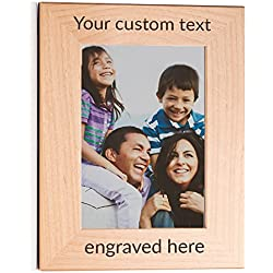 """Create Your Own Personalized Picture Frame (5"""" x 7"""" Portrait)"""