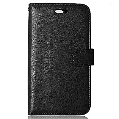 LG Stylo 2 Case, FirstCover Wallet Folio PU Leather Flip Case Cover with Card Holder and Wrist Strap for LG G Stylo 2 LG Stylus 2 LS775(2016)[Free Screen Protector] by FirstCover