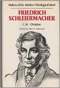 Schleiermacher Friedrich