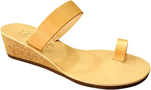 Genuine Leather Platform Wedges Sandals Women Fashion High Platform Shoes
