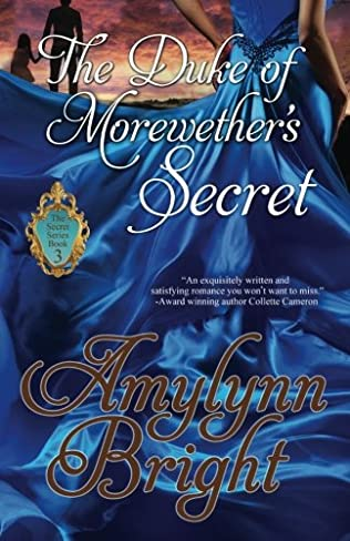 book cover of The Duke of Morewether\'s Secret