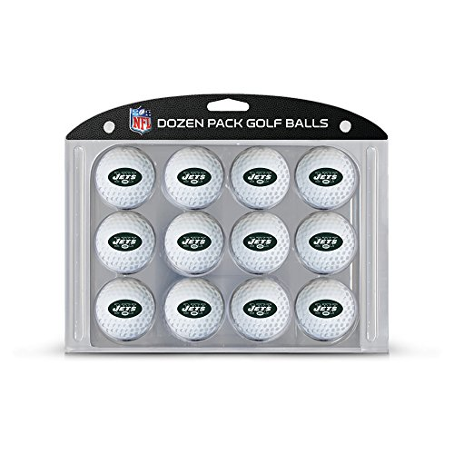 - Team Golf NFL New York Jets Dozen Regulation Size Golf Balls, 12 Pack, Full Color Durable Team Imprint