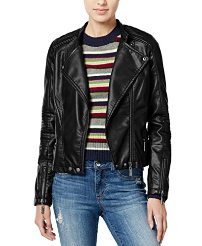 Jou Jou Faux-Leather Jacket