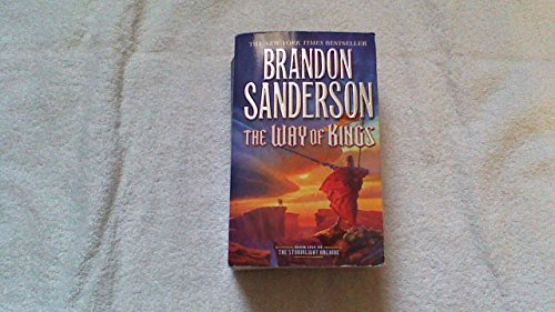 (The Way of Kings) By Sanderson, Brandon (Author) Mass Market Paperbound on 24-May-2011