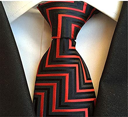 XJIUER corbata Poliéster Material Hombres de Negocios Corbata Moda ...