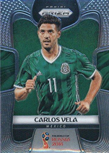 2018 Panini Prizm World Cup Soccer #129 Carlos Vela Mexico Futbol Card