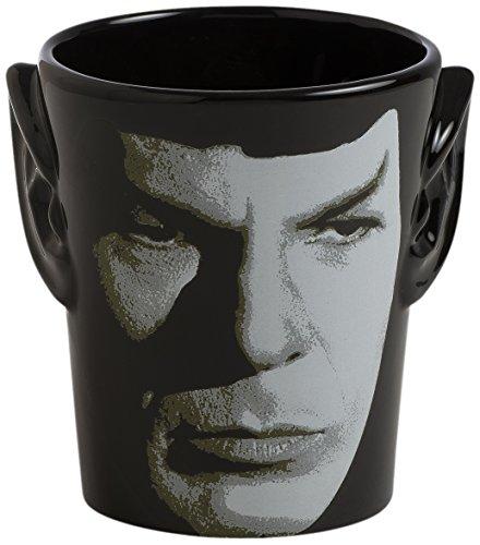 Vandor 55394 Star Trek Spock 3D Ears Shaped Ceramic Soup Coffee Mug Cup, 20 Ounce (Star Trek Transporter Heat Changing Coffee Mug)