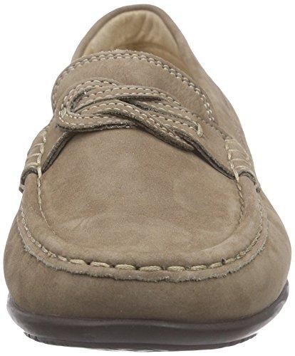 Gris Mocassins loafers Grau Cosetta Femme Sioux cork wqB51IRxxz