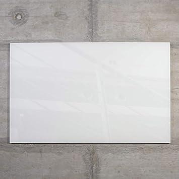 Amazon De Raum Blick Glas Magnettafel Max 50x30 Cm Weiss Inkl 5 Magnete